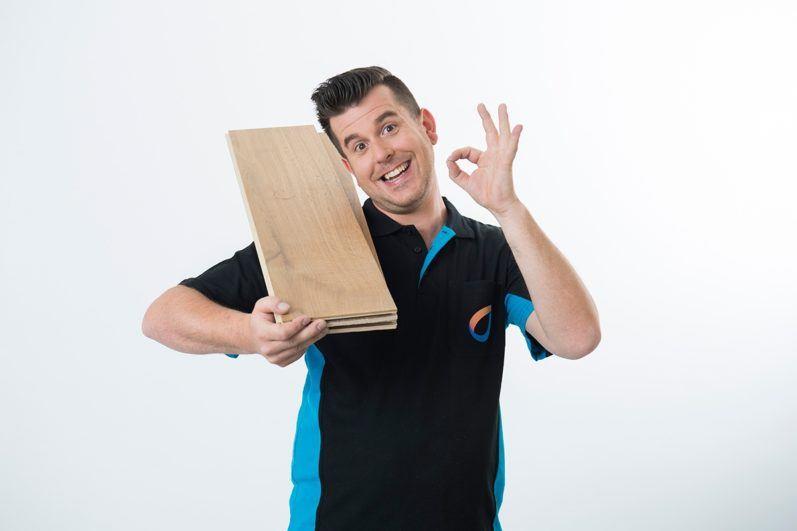 Vloerverwarming met houten vloer