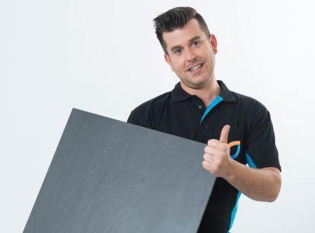 Vloerverwarming met tegels