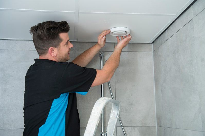 Mechanische ventilatie badkamer
