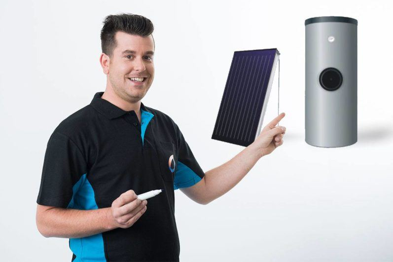 zonneboiler installateur
