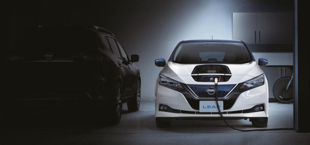 Laadpunt Nissan Leaf E-Plus   Abel&co