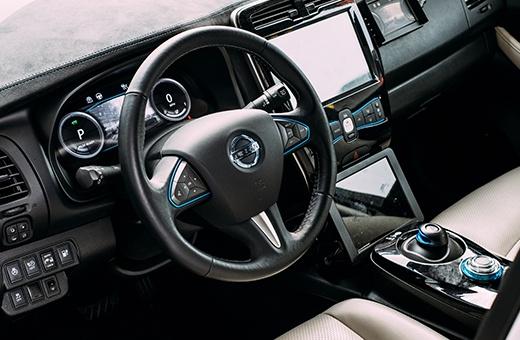 Laadpaal Nissan Leaf E-Plus   Abel&co