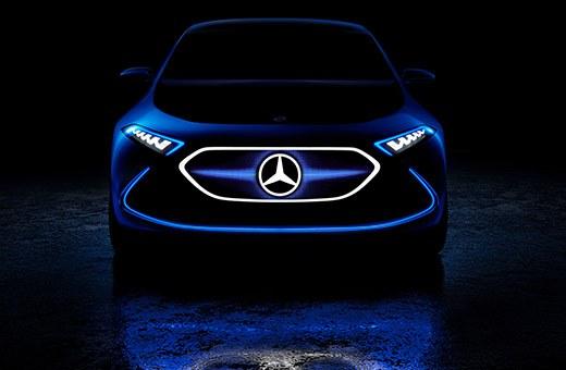 Laadpaal Mercedes EQA bij Abel&co