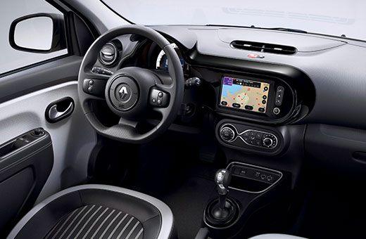 Close up Renault Twingo ZE 1